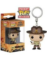 The Walking Dead TV Rick Pop! Keychain