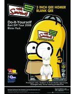 Simpsons: Homer DIY Qee Keychain Figure