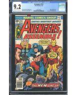 Avengers (1963 1st Series) #151 CGC 9.2