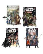 EU: Comic Packs Jedi Princess Leia vs. Darth Vader