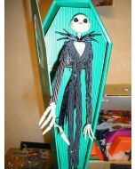 NIGHTMARE BEFORE CHRISTMAS: Jack Skellington Green Coffin