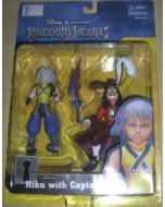 Kingdom Hearts Riku with Captain Hook