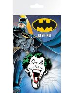 Batman Joker Gummi Keychain / Schlüsselanhänger