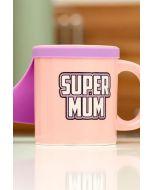 Super Mum Tasse mit Cape