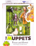 The Muppets Select Series Fozzie Bear & The Great Gonzo