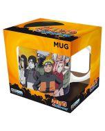 Naruto Konoha Ninjas Group Characters Tasse / Mug