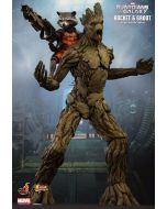 Guardians of the Galaxy Groot + Rocket Raccoon / Hot Toys