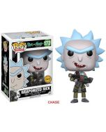 Rick & Morty Weaponized Rick CHASE Pop! Vinyl
