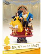 Beauty and the Beast D-Select PVC Diorama