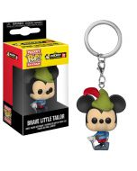 Mickey Mouse Brave Little Tailor Pop! Keychain 90th Anniversary