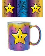 Super Mario Bros. Metallic Star Power Tasse / Mug