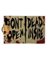 The Walking Dead Don't open Dead inside  Fussmatte / Doormat