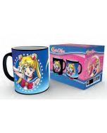 Sailor Moon Moonstick Tasse mit Thermoeffekt / Heat changing mug