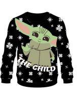 Star Wars The Mandalorian Grogu / The Child / Baby Yoda Christmas Sweater