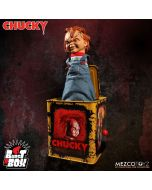 Bride of Chucky Burst-A-Box Scarred Chucky