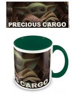 Star Wars Mandalorian: Grogu / The Child / Baby Yoda Precious Cargo Coloured Inner Tasse / Mug