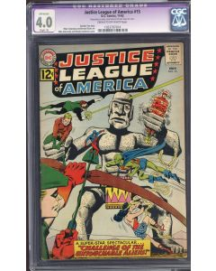 Justice League of America (1960 1st Series) #15 CGC 4.0 RESTORED