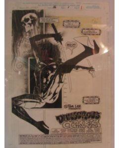 Ashley Wood Ghostrider 2099 Splashpage