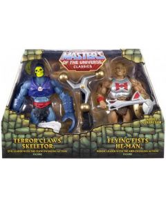 MASTERS OF THE UNIVERSE Classics: Flying Fists He-Man vs. Terror Claws Skeletor