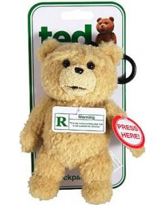 Ted Talking Plush Clip-On 15cm