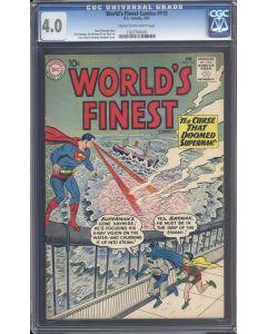 World's Finest (1941) #115 CGC 4.0