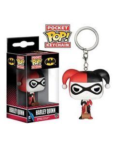 Batman Harley Quinn Pop! Keychain