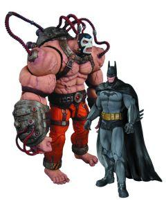 Batman Arkham City Batman vs Bane 2-Pack
