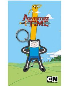 Adventure Time Finn Gummi-Schluesselanhaenger