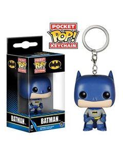Batman Pop! Keychain Blau