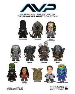 Alien vs Predator Sammelfiguren Whoever Wins Collection Mystery Titans