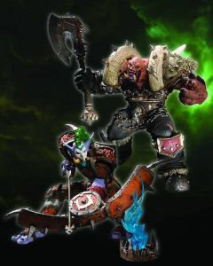 WORLD OF WARCRAFT DLX Troll Hunter Taz Dingo