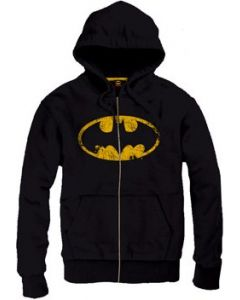 Batman Vintage Logo Hoodie Sweater Pullover