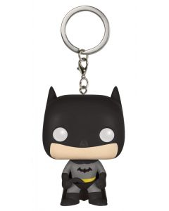 Batman Pop! Keychain Schwarz