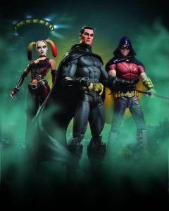 Batman Arkham City Ser.1 Batman Infected