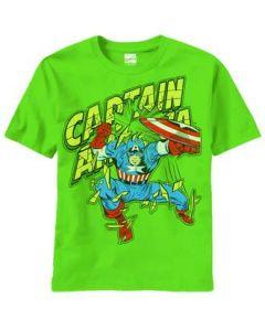 Capt. America Patriotic Soldier T-Shirt