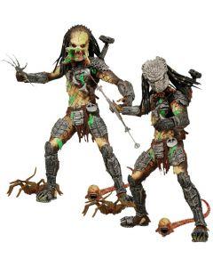 Aliens vs Predator AvP 2 Damage Predator Unmasked