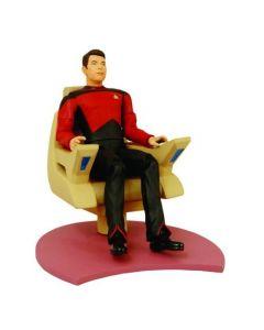 Star Trek TNG - Commander Riker with Command Chair