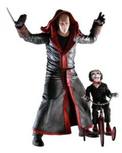 NECA Cult Classics Saw Jigsaw Killer with Puppet and Tricycle #1