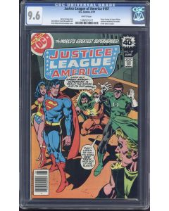 Justice League of America (1960 1st Series) #167 CGC 9.6
