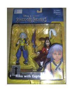 Kingdom Hearts Riku with Captain Hook