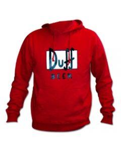 Simpsons Duff Logo Hoodie / Kapuzenpullover