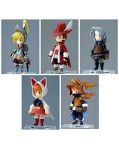Final Fantasy III Trading Arts Mini-Figuren 5er Set