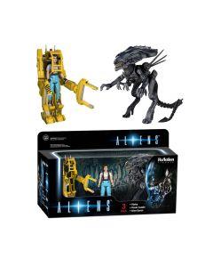 Alien ReAction - Ripley Power Loader Alien Queen 3er-Pack