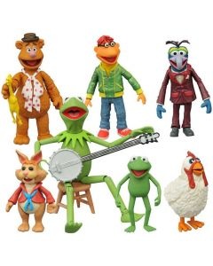 The Muppets Select Series 1 Fozzie with Scooter