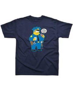 Simpsons Chief Wiggum T-Shirt