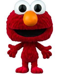 Sesame Street Pop! Vinyl Elmo Flocked