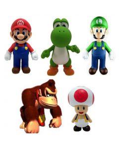Super Mario Bros. Toad Vinyl Action Figure 7 cm