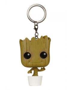 Guardians of the Galaxy Dancing Groot Pop! Keychain
