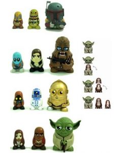 Star Wars Chubby Chewbacca Matrjoschka