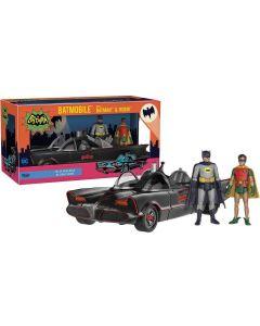 Batman 1966 Set Batman, Robin & Batmobile